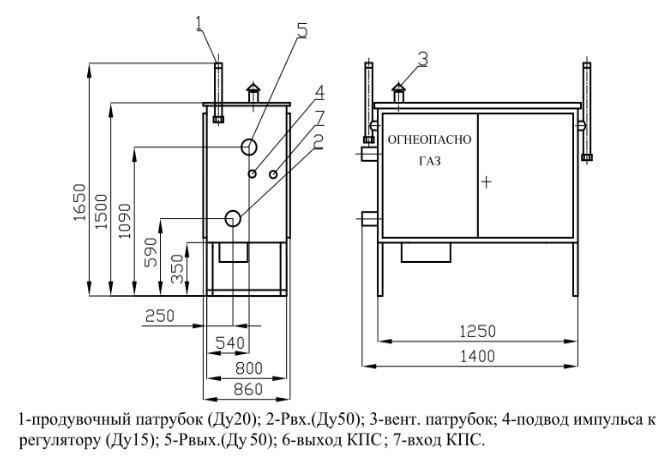 ГРПШ-02-2У1 с регулятором