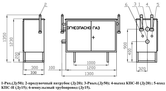 ГРПШ-03М-У1 с регулятором