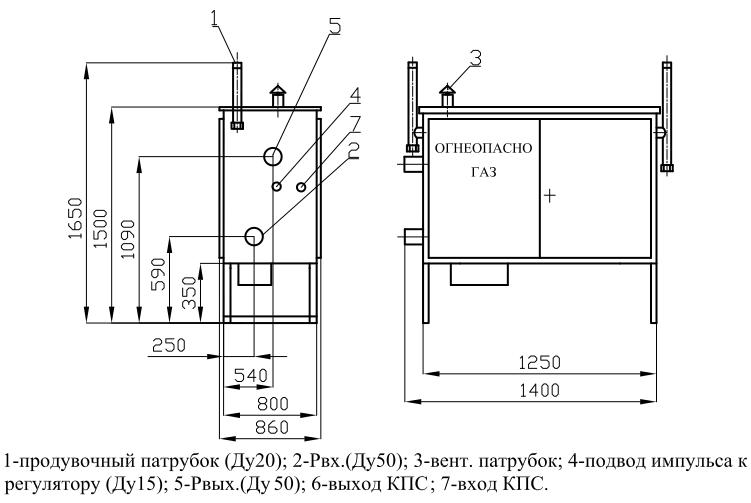 ГРПШ-05-2У1 с регулятором